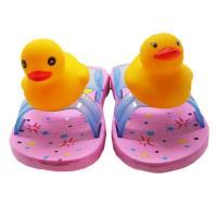 Yellow duck new design EVA slipper for kids