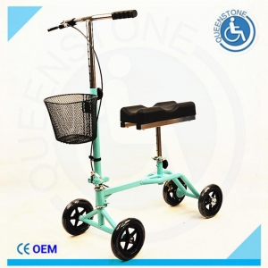 China SQKW-01A Green Knee Scooter with bigl Size Knee Pad on sale