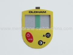 China LCD membrane keypads on sale