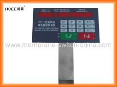 China Touch panel membrane switch keyboards on sale