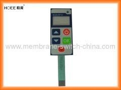 China waterproof membrane switch panel with clear or tinted LCD window on sale