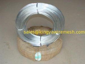 China Electrial galvanized iron wire, 3kgs - 500kgs per roll, 7-28g zinc coating on sale