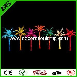 China LED coconut tree palm tree light for garden landscaping outdoor use on sale
