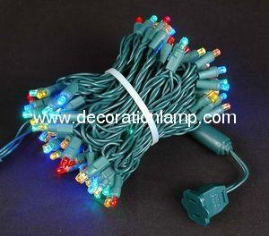 China 5MM Multi Colored LED Christmas Light(RGB) on sale