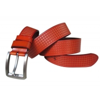 Hot selling good quality men real leather belt brands