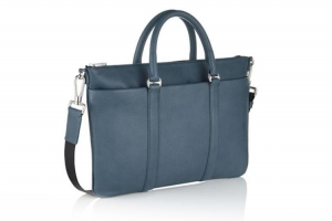 China Factory price calf leather tote briefcase laptop bag for busines men on sale