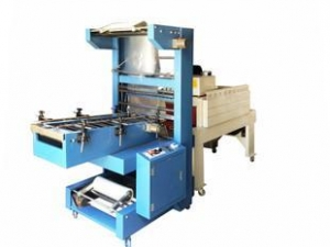 China Semi-automatic sleeve wrapper packing machine on sale
