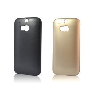 China Hot Metal Oil Paint Thin PC Cell Phone Case For HTC One M8 on sale