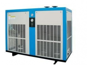 China PLC control high pressure compressed refrigeration air dryer / compressed air drying on sale