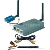 2.4G 100MW 4 channel wireless audio and video transceiver wireless A/V transmitter