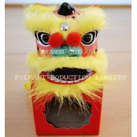 Chinese handicrafts mini lion as special folkart gifts decoration_16x10x10cm