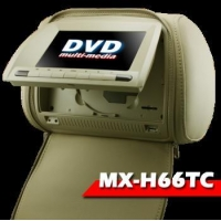 "2x7"" Headrest DVD player with Touch screen/ TV function/ SD/ USB/ FM/ IR/ Multi-function control"