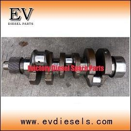 China Isuzu 3LD1 3LB1 crankshaft for Mini Excavator on sale