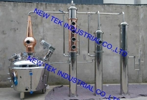 China Copper Alcohol Still, Ethanol Distillation Equipment, Gin Vodka on sale