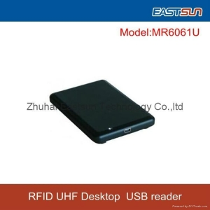 China Mini USB UHF Desktop Reader& Writer ISO18000-6B,ISO18000-6C(EPC GEN2) on sale