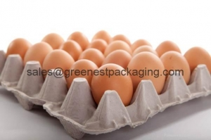 China Paper Pulp Molded Egg Tray on sale