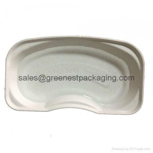 China Molded Pulp Kidney Tray on sale
