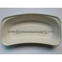 China Paper Pulp Molded Kidney Dish on sale