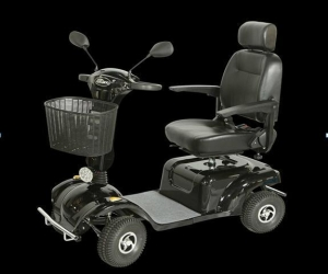 China Four wheel electric mobility scooter for handicapped on sale