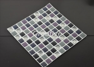 China Customized 3D Mosaic Dome Self Adhesive Gel Wall Tiles For ForKitchenBacksplash on sale