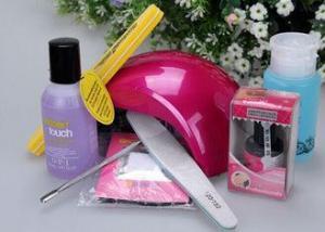 China Nail Art Accessory Nail Gel Starter Kits Personal Use , UV Nail Curing Lamp on sale