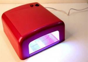 China High Effective UV Lamp Nail Dryer For Beauty Girl / Gel Nail Polish LED Light on sale