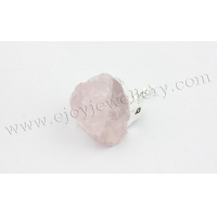Gemstone Beads Home Rose Quartz Rough Nugget Pendants