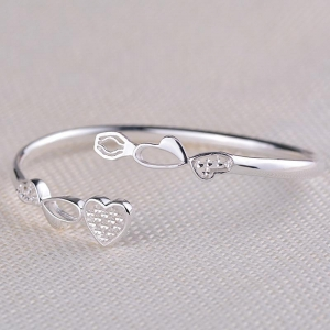 China Sterling Silver Bangle S990 Sterling Silver Jewelry Bangles Silver Bracelets on sale