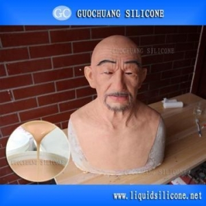 China Medical Grade Silicone skin safe silicone rubber for human mask making on sale