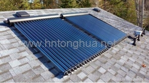 China Solar evacuated tube collector on sale