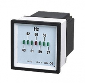 China Frequency meters SF-LED96-3 SF-LDE72-3 LED Frequency Meter on sale