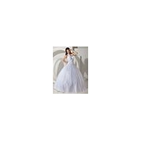 White Ball Gowns Long Tulle Satin Halter With Straps Corset Prom Dress