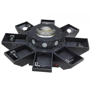 China Multi-head Laser Lights Eight claw Pro lighting Red Green dj or disco laser lights for sale on sale