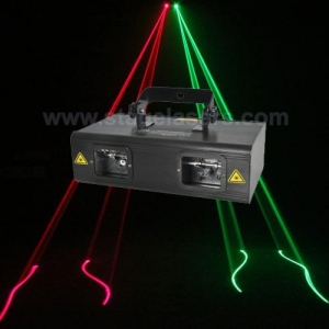 China Multi-head Laser Lights doubles heads green and red CHEAP laser lights for sale with new effect on sale