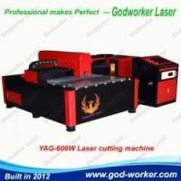 GW-1212 YAG-600W aluminum copper brass sheet metal laser cutting machine