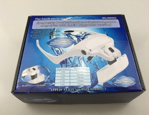 China LED Light Head Magnifier on sale