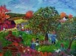 China Abstract People Oil Painting Children Kids School k003-[CK-SC-1520] on sale