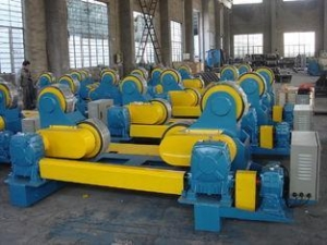 China Self Adjustment 80T Heavy Duty Pipe Stands, Wireless Control Welding Pipe Stands with Rollers on sale