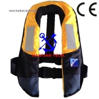 China yellow life jacket Inflatable Lifejacket on sale