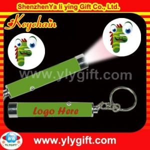 China Keychain LED projector keychain on sale