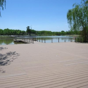 China WPC Decking Wood plastic composite price Garden WPC Flooring Outdoor deck on sale