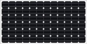 China Mono Crystalline Solar Panel 185-200W on sale