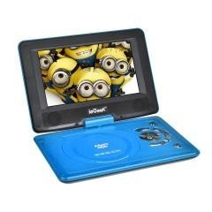 China UK/DE/AU Direct ieGeek 12.5 Swivel LCD Portable DVD Player Blue on sale