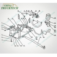 E-Catalog C9-2 HOWO 42,64 HYDRAULIC STEERING SYSTEM