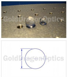 China Spherical Lenses Fused Silica Ball Lens on sale