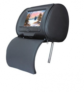 China car headrest dvd player 7 headrest tft lcd monitor with pillow on sale