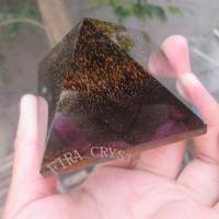 Pyramid Tiger Eye Gemstone Pyramid