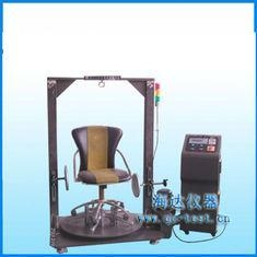 China High Standard Office Chair Rotating Testing Machine / Cyclic Impact Testing Equipment on sale