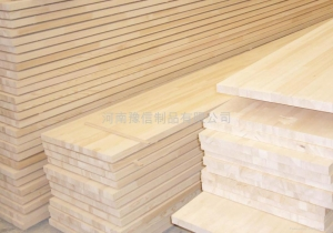 China Plank material paulownia wood PINE FINGER JOINT BOARD on sale