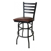 Ladder Back Double Ringed Swivel Bar Stool (SKU: #ASF-900-316) Price: $55.50 Check Available Colors